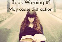 Funny book sayings (warnings)