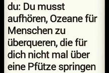 Sprüche / Weisheiten
