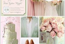 {colours} - 14. mint, blush & gold