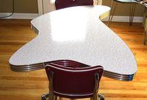 Retro 50's / Mid century modern, furniture