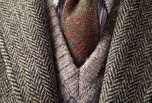 Men Tweed Wool Fair Isle