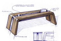 furnitures sketches
