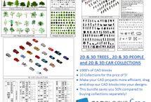 Transport CAD blocks