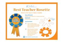 Teacher Appreciation Ideas / The resources are perfect for your child to thank their teacher for all their help over the school year! Visit iChild.co.uk for thousands more themed activities for children aged 0 - 11 years. / by iChild.co.uk