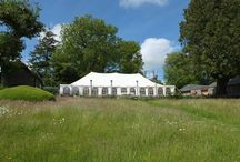 Wedding Marquees at Coombe Trenchard / Marquees at Coombe Trenchard, and Edwardian country house wedding venue in West Devon