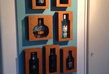 Bottle / Wine bottle rack