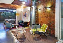 Indoor courtyard by