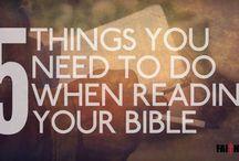 BIBLE, GOD'S WORD / by Rhonda Carter