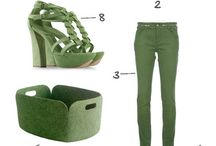 green: all hues of green