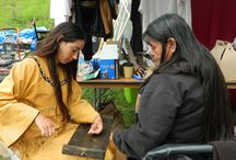 "Behind the scenes of new ""Kateri"" movie set for Fall 2015 / EWTN is now filming ""Kateri"", an original movie set to premiere in late fall 2015, that presents the story of Kateri's conversion to the Catholic faith. / by EWTN Global Catholic Network"