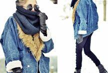 outfity, šály, bundy .. :) / :)