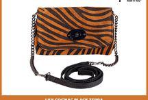 Lily Petite Zebra Shoulder bag - MarlaFiji