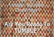 Tumbler Quilts / Bonnie Hunter  has proposed that we make Tumbler quilts as our Leader and ender project this year.  I am all in.