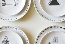 idées porcelaine