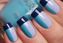 NAILED IT!! / Colour block nail art.