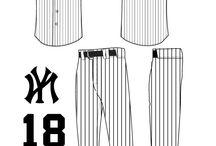 ユニフォーム / プロ野球、メジャーリーグのユニフォーム