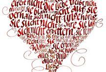 Calligraphy / Kalligrafik