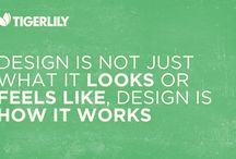 Tigerlily Inspiration / Bits and pieces which inspire our work.   #Tigerlilyapps