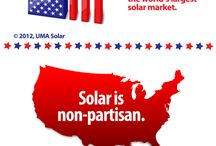Solar Infographics / Great infographics about solar energy. / by UMA Solar