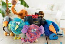 addi Express Familie Wolli / Family Wolli  / Craft book for children/families with the addi Express knitting machine - Bastelbuch für Familien mit der addi Express Maschine