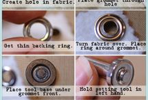 Grommets, how to set them