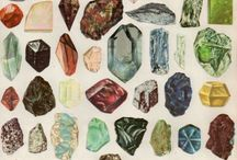 Stones and Crystals / by Farrah Kaeser