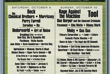 Vintage Concert & Music Festival Posters / Vintage, vintage design, music festivals, festival posters