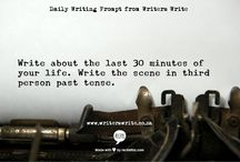 """We Love Writers / """"There is nothing to writing. All you do is sit down at a typewriter and bleed.""""  ― Ernest Hemingway"""