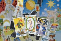 Tarot books / Sometimes books can help us to deepen our knowledge of the tarot. If we are beginners, it can help us to learn the cards too :)
