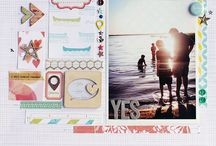 Scrapbooking Inspiration / Scrapbooking layouts that I love. a collection with the aim to inspire.