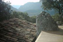 Molino s.XVII Corçà, Lleida / Obra en Molino s.XVII Corçà, Lleida #tarima #madera #ipe #exteriores #parkhouse #lleida #molino