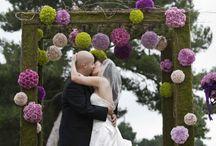 Ceremony wedding flowers