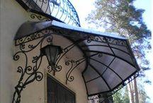 decoracionde puertas y ventanas en hierro