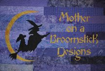 Mother on a Broomstick QuiltDesigns / Quilt designs