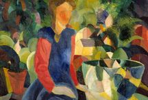 """August Macke"" / Feel free to pin any pictures from the artist August Macke. If you want to be invited just follow the board or comment ADD ME on one of the ADD ME Pins."