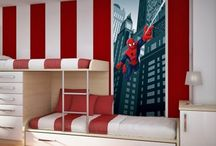 Great Bedroom Designs for Kid's / Anything that is fun, whimsical, and just cool inspiration for decorating kids bedrooms