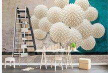 3D Derinlik Temalı Duvar Kağıtları