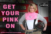 GET YOUR PINK ON !!!! / Breast Cancer Awareness Hoods that comply with NFPA 1971-2013 UL Standards