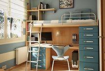 Matthew's Bedroom / by Elna Hamp