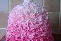 Mannequin dress cake