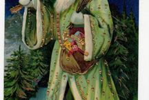 père Noël vert