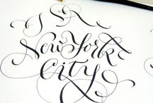 Inspiration Typography / Beautiful Scripts