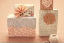 Wrapping we heart... / by RubyJu Events
