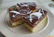 Recepty na zákusky,koláče,sladké i slané pečivo