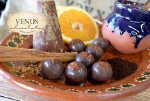 Chocolates VENUS / nuestras creacioes