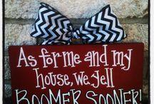 Boomer Sooner! / by Caitlin