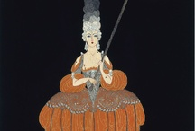 Erte (or similar style to his) / by Susan McDonald