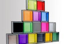 Ladrillos de vidrio