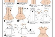 Oragami dresses