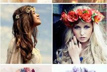 Flower crowns...